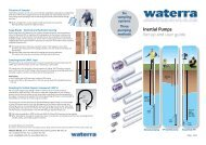 Inertial Pumps Set-up and user guide - Waterra-In-Situ