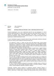 določanje zahtevane izobrazbe v aktu o sistemizaciji delovnih mest