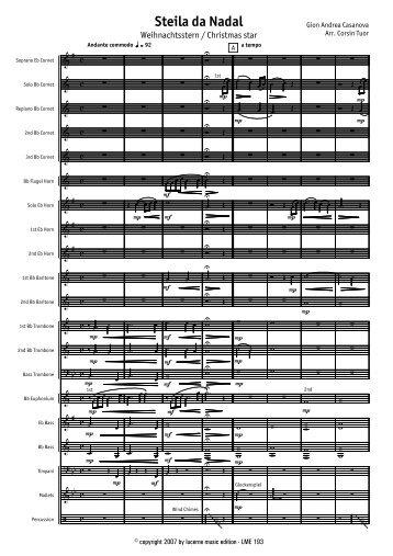 Finale 2007 - [Steila da Nadal - Score.MUS] - Lucerne Music Edition