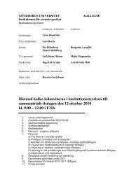 Utskriftsversion, alla dokument samlade i en pdf - Institutionen för ...