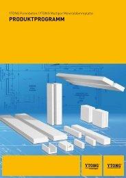 ProduktProgramm - Xella International GmbH