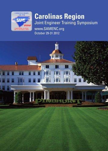 Carolinas Region - 2012 Carolinas Regional Conference ...