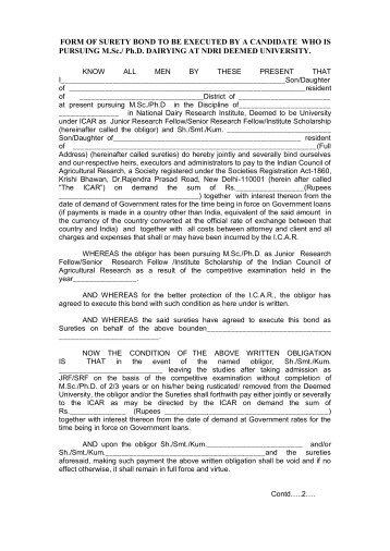 NJAC § 5:36-4.1 Performance surety bonds The standardized form ...