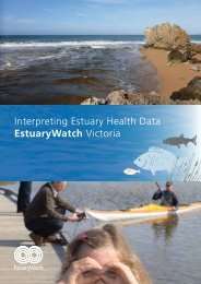 Interpreting Estuary Health Data EstuaryWatch Victoria