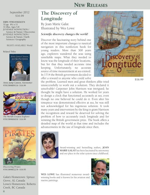 new releases - Pelican Publishing Company