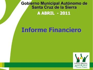 Informe Financiero - Santa Cruz de la Sierra