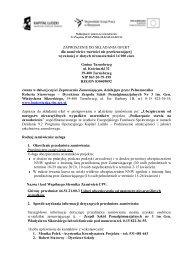 Zapytanie ofertowe nr 14 - Zespół Szkół Ponadgimnazjalnych nr 3