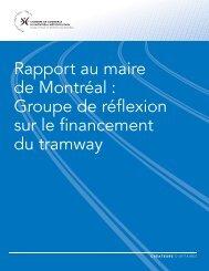 Rapport - Chambre de commerce du Montréal métropolitain