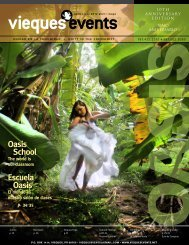 Oasis School Oasis School Escuela Oasis Escuela ... - Vieques Events