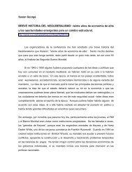 BREVE HISTORIA DEL NEOLIBERALISMO: veinte ... - Cholonautas