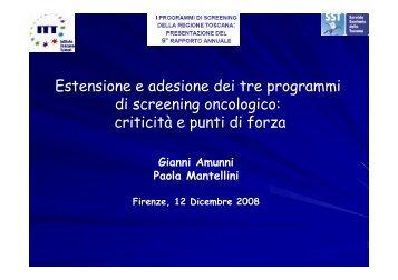 Apri presentazione - Centro per lo Studio e la Prevenzione ...