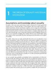 THE ORIGiN OF SEXUALITY AND SEXUAL ... - Väestöliitto
