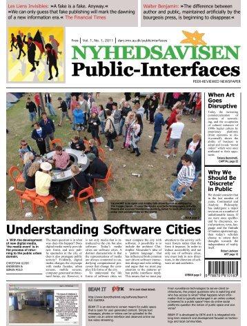 NYHEDSAVISEN Public-Interfaces - Digital Aesthetics Research ...