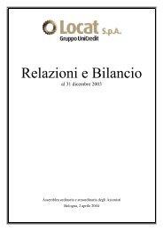 Locat SpA Gruppo UniCredito Italiano - Assilea