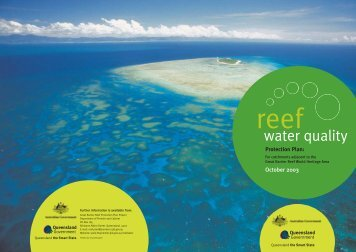 Reef Water Quality Protection Plan: For catchments adjacent to the ...