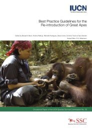 Best Practice Guidelines for the Re-introduction of Great Apes ...