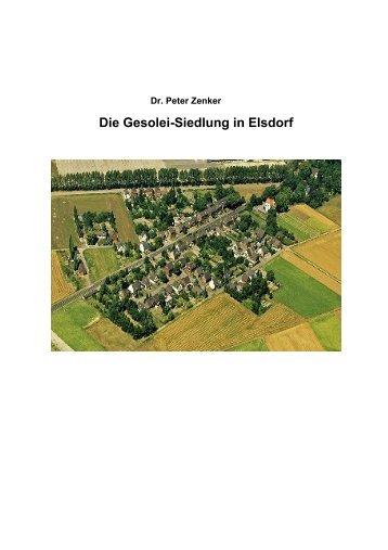 Die Gesolei-Siedlung in Elsdorf, Langfassung - Dr. Peter Zenker