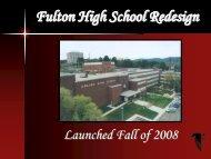 Fulton High School Redesign