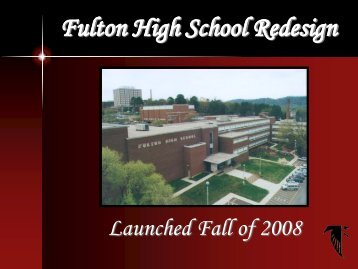 Fulton High School Redesign