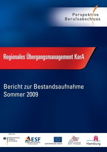 Bericht zur Bestandsaufnahme Sommer 2009 - Perspektive ...