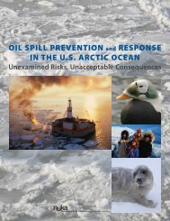 OIL SPILL PREVENTION and RESPONSE IN THE U.S. ARCTIC ...