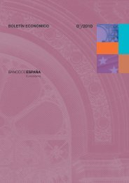 Boletín Económico. Marzo 2010. - Expansión