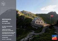 Briefmarkenausgabe 14. Juni 2012 - Philatelie Liechtenstein