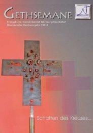 Gethsemane 2/2012 - Gottes-wort-im-kirchenjahr.de