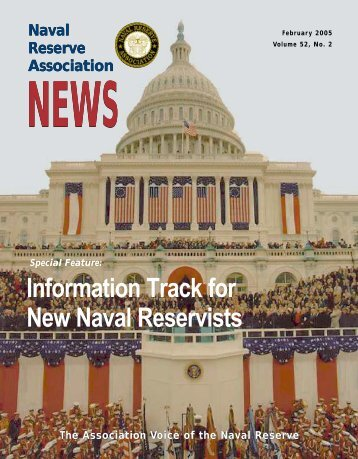 Information Track for New Naval Reservists