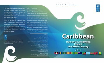 Caribbean - UNDP Trinidad and Tobago