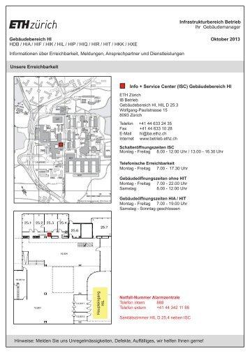 pdf, 1.5 MB - Betrieb - ETH Zürich
