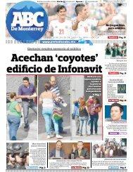 Acechan 'coyotes' edificio de Infonavit - Periodicoabc.mx