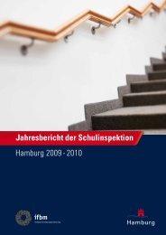 hamburg 2009 - 2010 Jahresbericht der Schulinspektion - Elternrat ...