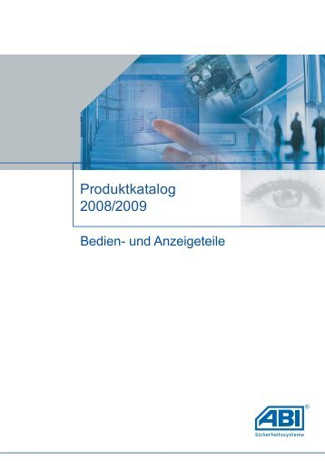 Katalog 2008_F_ohne Preise.vp - ABI Sicherheitssysteme GmbH