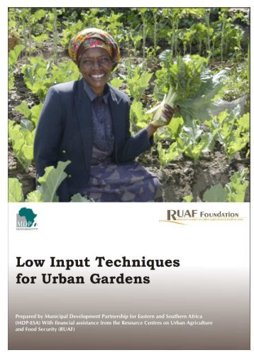 A Guide Book on Low Input Techniques for Urban Gardens