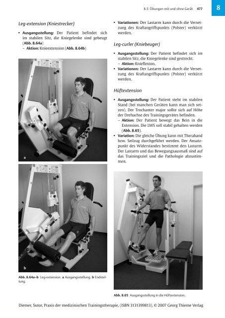 Praxis der medizinischen Trainingstherapie 1 Leseprobe 4 - FOMT