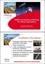 Localisation in the railways