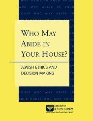 Who May Abide in Your House? - URJ Books And Music