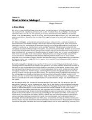 Chapter Six | What Is White Privilege? - MP Associates