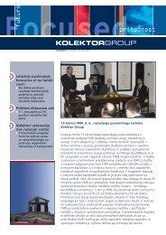 Komunitator Å¡tevilka 29,december 2005 - Kolektor