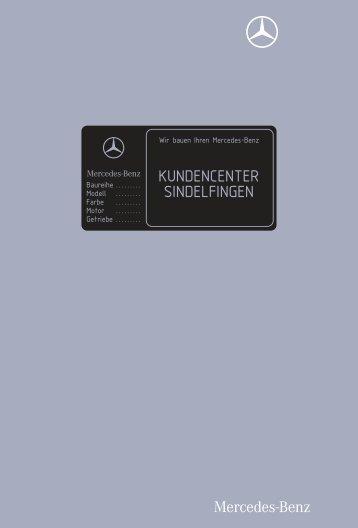 Ihr Mercedes - Benz K undencenter in Sindelfi ngen