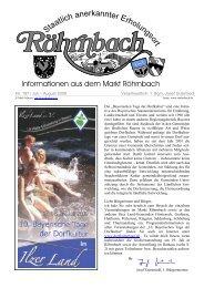 Nr. 197 / Juli – August 2009 Verantwortlich: 1. Bgm ... - Röhrnbach