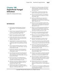 Chapter 188 Superficial Fungal Infection - McGraw-Hill Medical ...