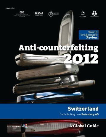 Anti-counterfeiting - Swissberg