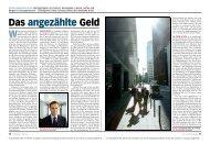 Das angezählte Geld [456 kB] - Dieter Schnaas