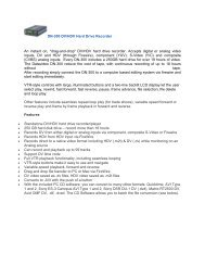 DN-300 DV/HDV Hard Drive Recorder An instant on ... - Datavideo