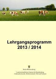 Lehrgangsprogramm