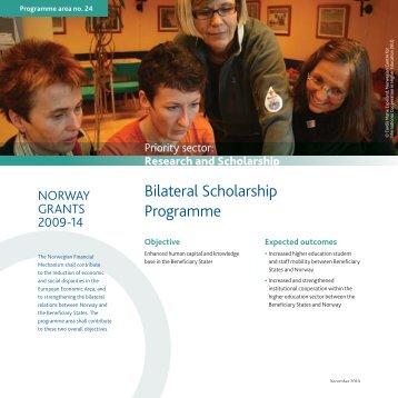 Bilateral scholarship cooperation - EEA Grants