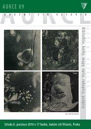 AUKCE 89 - Aukční síň Vltavín