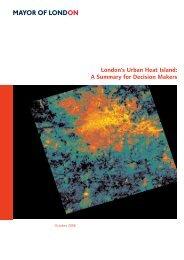 London's Urban Heat Island - Greater London Authority